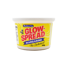Glow Spread in Yellow and White container