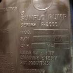 Sunflo P-2000  P2DBS Z