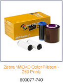 800077-748 - Zebra ix Series color ribbon for ZXP Series 7 YMCKOK
