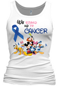 We Stand Up To Cancer Racerback Tank