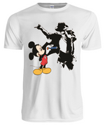 Mickey Drawing Michael Jackson