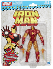 Marvel Legends Super Heroes Vintage 6-Inch Figures Wave 1: Iron Man