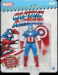 Marvel Legends Super Heroes Vintage 6-Inch Figures Wave 1: Captain America