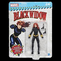 Marvel Legends Super Heroes Vintage 6-Inch Figures Wave 1: Black Widow