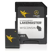 Lakemaster Digital GPS Map 8.0 - SD Card - Wisconsin