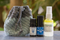 Scentsible Life's Seasonal Set for Late Summer includes, muscle eeeze, lavender, diffusion insect repellent and a handmade travel pouch