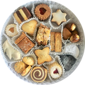 Assortment of Traditional Swiss Christmas Cookies