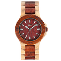 WeWood Date Beige/Brown Watch Organic Wooden Natural New In Box