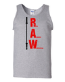 RAW TANK TOP (Mens) -- Real Authentic Weightlifting