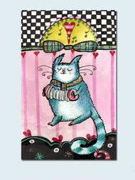 Cat Music Print