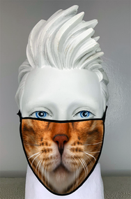 Blonde Cat Mask
