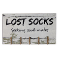 Lost,Sock,Seeking,Soul,Mates,wooden,sign,Auntie,Jus,Quilt,Shoppe