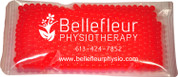 "4.5"" x 8"" ""Gel Beads"" Cold/Hot Therapy Pack. Sold per Case. 50 per case."