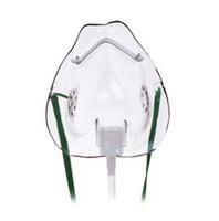 Hudson 1041 Teleflex Mask -Medium Concentration, Elongated, Adult - 50 Per Case