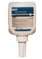 Steris 626287 Antibacterial Soap Lotion 1 Liter Scented Dispenser Refill Bottle by DebMed - 12/CS
