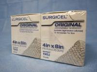 "Ethicon 1952 Surgicel Absorbable Hemostat, 4"" x 8"", 24/Cs"