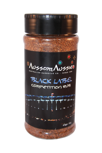 Competition Black Label Rub - Sweet Heat combination to add that zip to your next turn in.