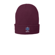 Maroon Knit cap style and fully lined it with fleece for additional warmth and comfort. Fabric 100% acrylic with 100% polyester fleece lining