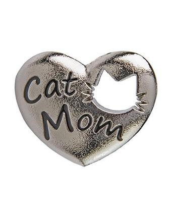 Cat Mom Heart