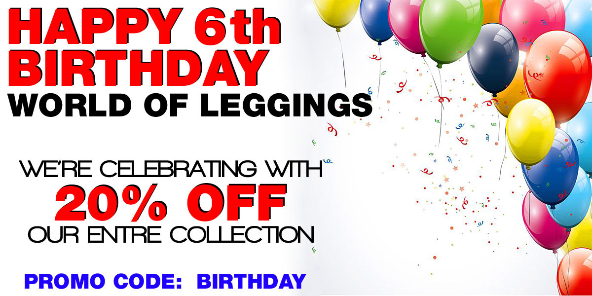 Birthday Legging Sale