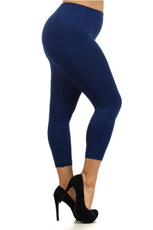 Plus Size Capris | World of Leggings