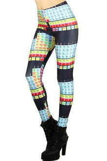 Periodic Table of Elements Leggings