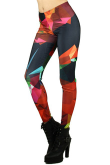 Sassy Colorful Shapes Leggings