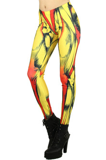 Comic Muscle Leggings