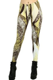 Earthen Floral Leggings