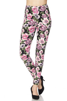 California Pink Rose Leggings