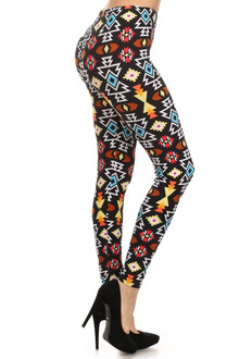 Festive Nights Tribal Leggings