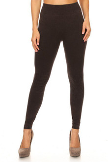 Black Urban Wear Denim Cotton Leggings