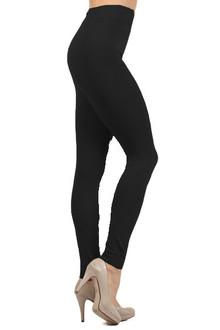 3/4 Rise Thick Fleece Lined Leggings