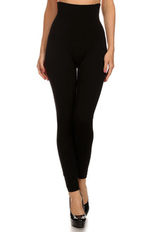 High Waist Fleece Lined Compression Leggings