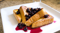 Blueberry Buttered Toast