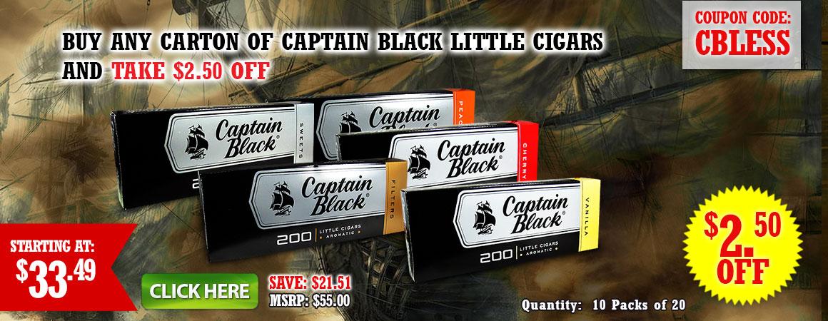 Captain Black Little Cigars