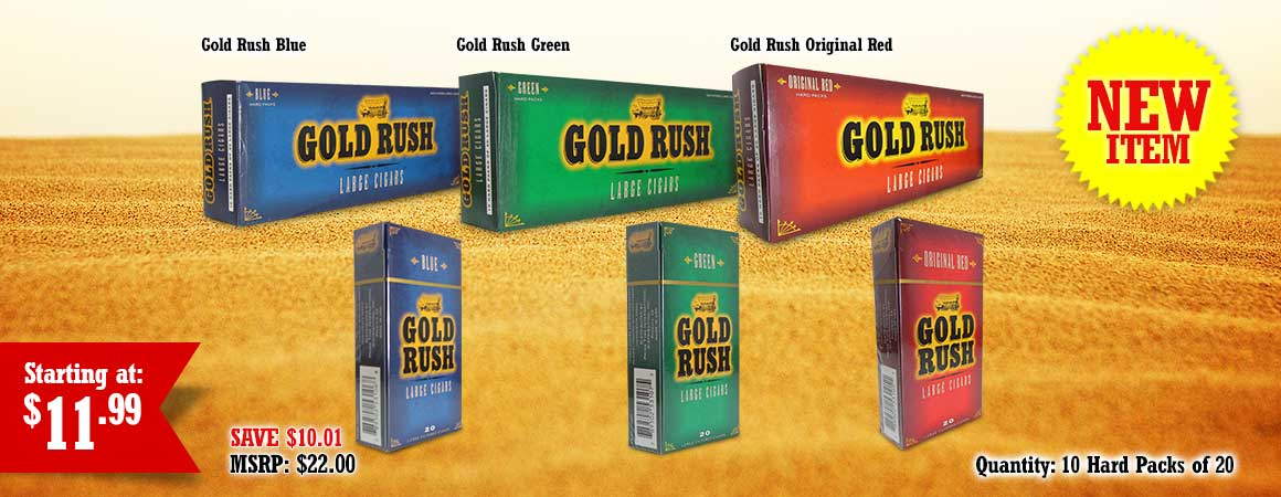 Gold Rush Large Cigars