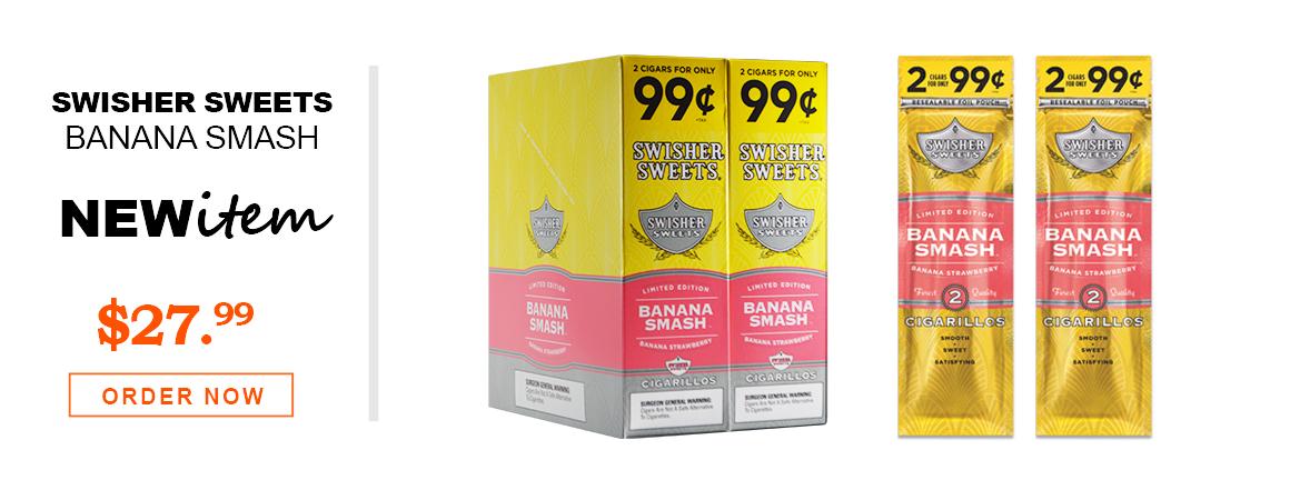 Swisher Sweets Cigarillos Banana Smash