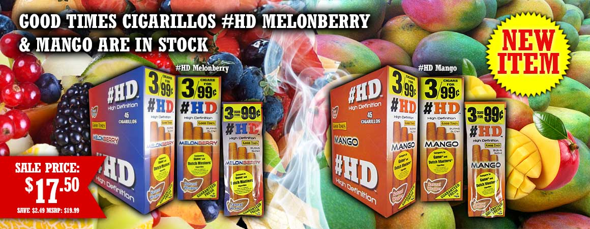Good Times Cigarillos #HD Melonberry & Mango