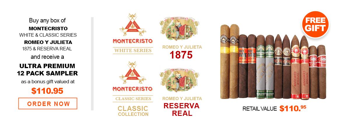 Montecristo & Romeo y Julieta Cigars
