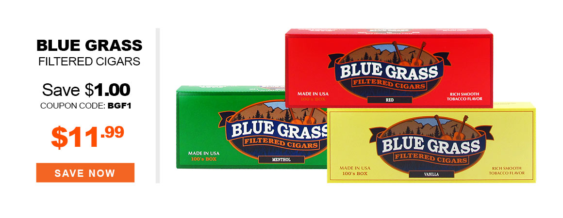 Blue Grass Filtered Cigars