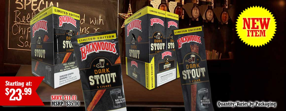 Backwoods Dark Stout Cigars