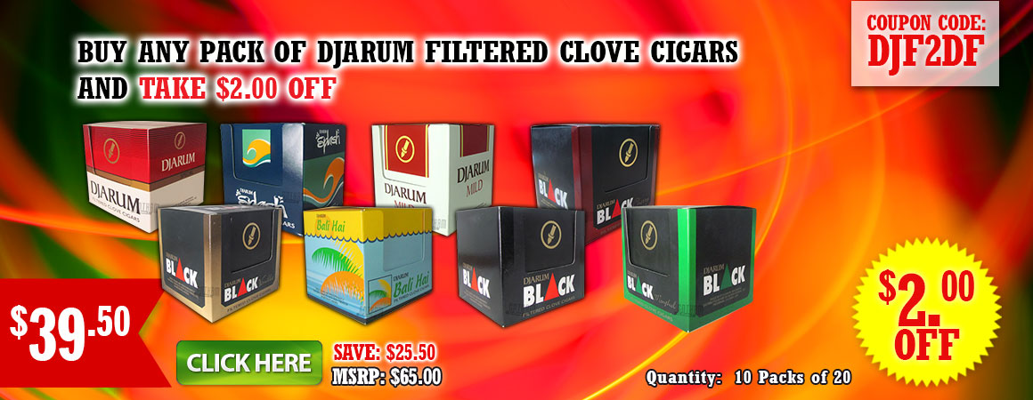 Djarum Filtered Cigars