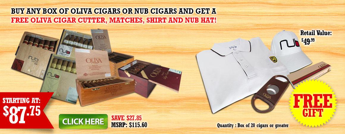 Oliva Cigars Nub Cigars