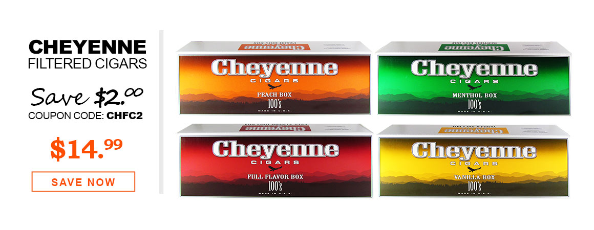 Cheyenne Filtered Cigars