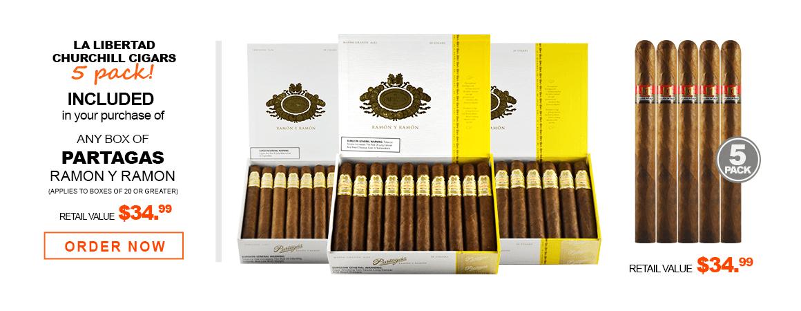 Partagas Ramon y Ramon Cigars