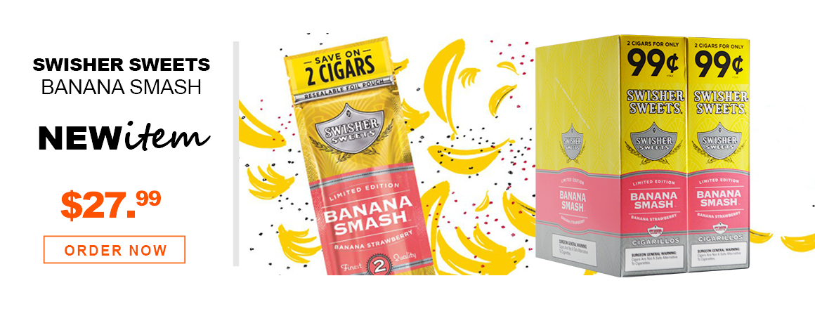 Swisher Sweets Cigarillos Banana Smash