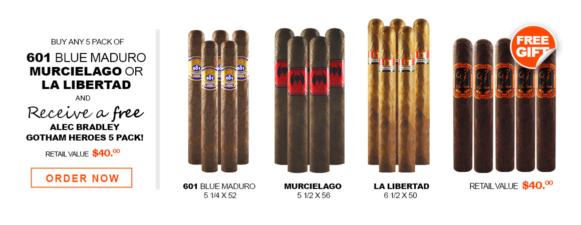 601, MURCIELAGO AND LA LIBERTAD 5 PACK