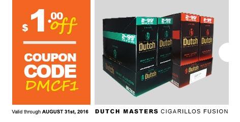 Dutch Masters Cigarillos Fusion