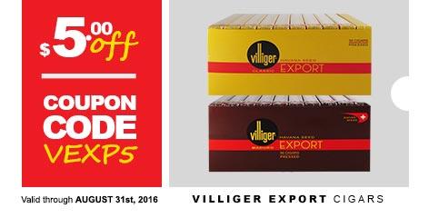 Villiger Export Cigars